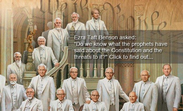 ezra taft benson constitution quotes