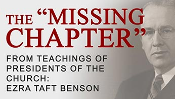 Missing Ezra Taft Benson Chapter YouTube video